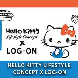 Hello Kitty Lifestyle Concept x LOG-ON