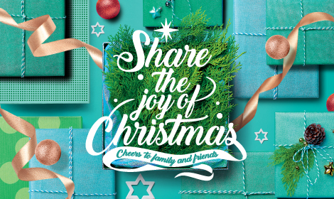 Share the joy of Christmas