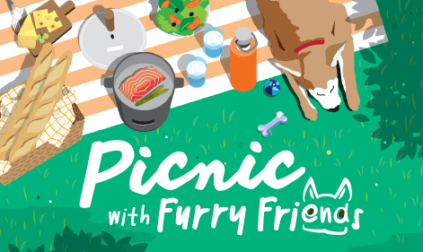 Picnic with Furry Friends