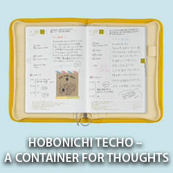 Hobonichi Techo – A Container for Thoughts