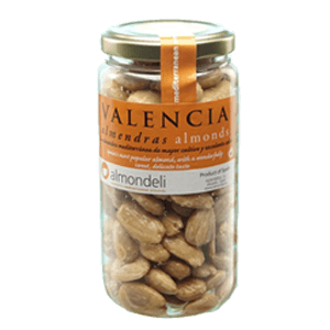 Valencia White Almonds 215g