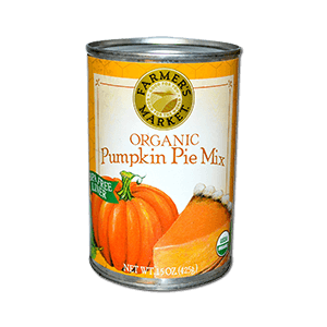 Organic Pumpkin Pie Mix 425g