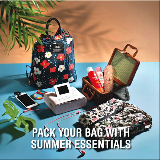 Pack Your Bag With Summer Essentials