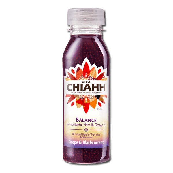 Grape & Blackcurrant Juice with Chia Seeds 300ml