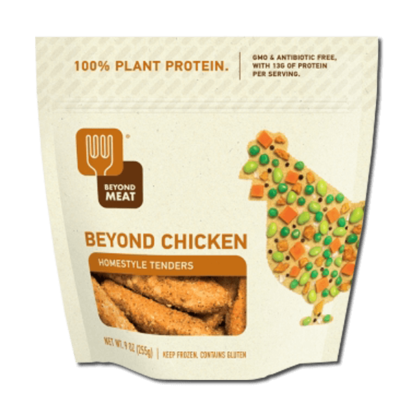 Homestyle Tenders (Plant-based Chicken Coated with Breading) 255g