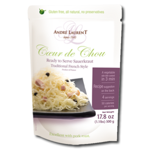 Andre Laurent Ready To Serve Sauerkraut - Traditional French Style 500g