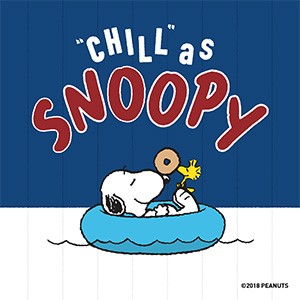 """Chill"" as Snoopy"