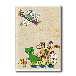 Toy Story A6 Monthly Schedule Book