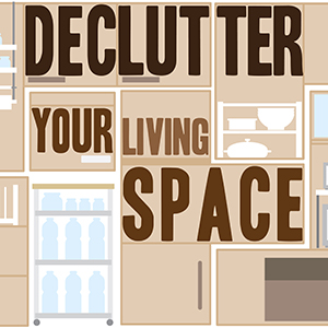 Declutter Your Living Space