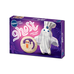 Ghost Shape Sugar Cookie Dough 311g