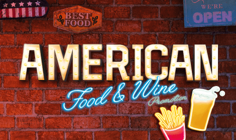 American Food & Wine Promotion:  Less Fast, More Healthy