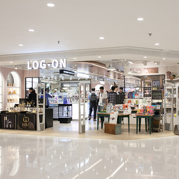 The brand new <b>LOG-ON</b> Harbour City Store