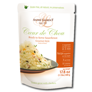 Andre Laurent Ready To Serve Sauerkraut - Gourmet Style 500g
