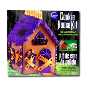 Pre-Assembled Cookie House Kit - Halloween 907g