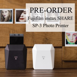 Fujifilm instax SHARE SP-3 Bundle Set Pre-Order